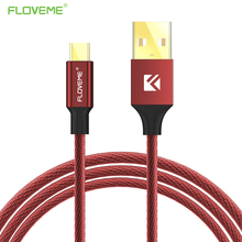 FLOVEME Micro USB Charge Cable For Samsung Xiaomi Huawei LG Lenovo Tablet PC Nylon Braid Universal Android Mobile Phone Cables