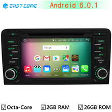 4G LTE Octa Core 64-Bit Android 6.0.1 Car DVD Player for AUDI A3 2002-2011 GPS Navigation Radio Stereo System 2GB RAM 32GB ROM