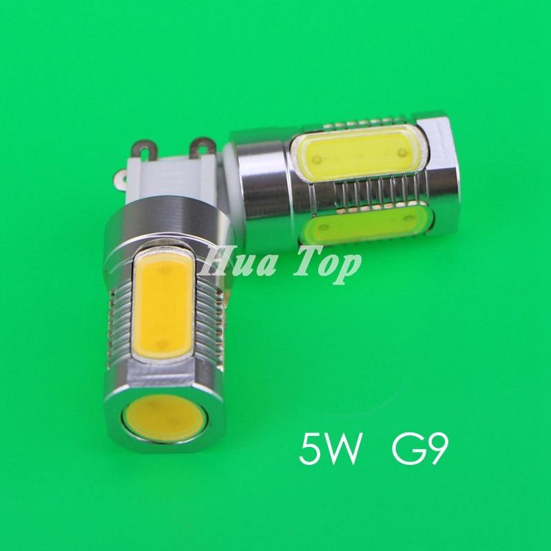 5Pcs Direct fctory lamp 5W G9 220V Light corn bulb 5 COB lampada White Ampoule home ceilimg led spot light free shipping drop<br><br>Aliexpress