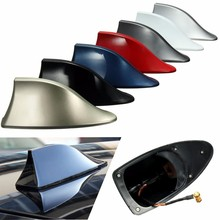 Universal Car Roof Style Shark Fin Antenna Radio Signal Aerials AM/FM For BMW
