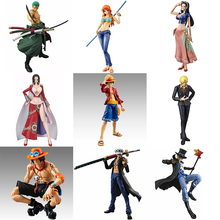 One Piece Variant Luffy Zoro Sanji Action Figures Variable Hancock Nami Robin Sabo Ace Law Mihawk PVC figure Toys Anime 18CM