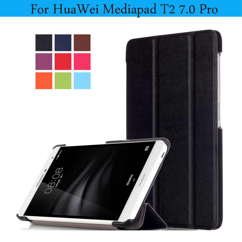 KST PU Leather Cover For Huawei MediaPad T2 7.0 Pro Case Tablet Magnetic Smart Case for Huawei Mediapad T2 7.0 Pro Cover <br><br>Aliexpress