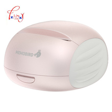 Portable  pink Wifi Printer receipt  Printing Barcode Wireless Pocket Thermal Printer Electronic Computer Office 1pc