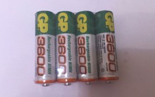 Brand New 2015 0riginal 12pcs/Lot GP 1.2V NiMh AA 8 mAh Battery Rechargeable AA Batteries pilas recargables Model:3600