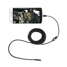 7mm Lens Waterproof Android Endoscope 1m 1.5m 2m 3.5m 5m Cable USB Endoscope Camera Inspection Borescope Camera Car Endoscope(China)