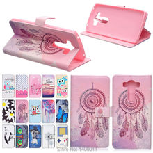"Cartoon Design Magnetic Holster Stand Flip Leather Cover Case For LG V10 / F600 H968 / G4 Pro 5.7"" Wallet style cell phone cases"