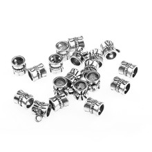 20pcs Tibetan Silver Bails beads 7mm Jewellery Craft Findings