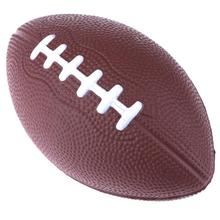 Mini Soft Standard PU Foam American Football Soccer Rugby Squeeze Ball For Kids Adults Birthday Christmas Gift Football & Rugby(China)