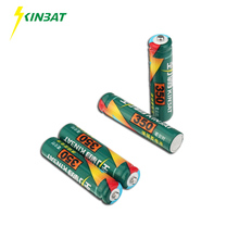 KINBAT 4pcs 350mAh 1.2V AAA Ni-CD Rechargeable Battery AAA Pre-Charged NICD Batteries Pack For Toys Microphone Remote Controls(China)