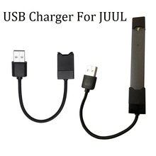 Dual Port Universal Micro USB Charger Magnetic Adsorption USB Cable Fast Charging Wire For JUUL Cigarette Accessories(China)