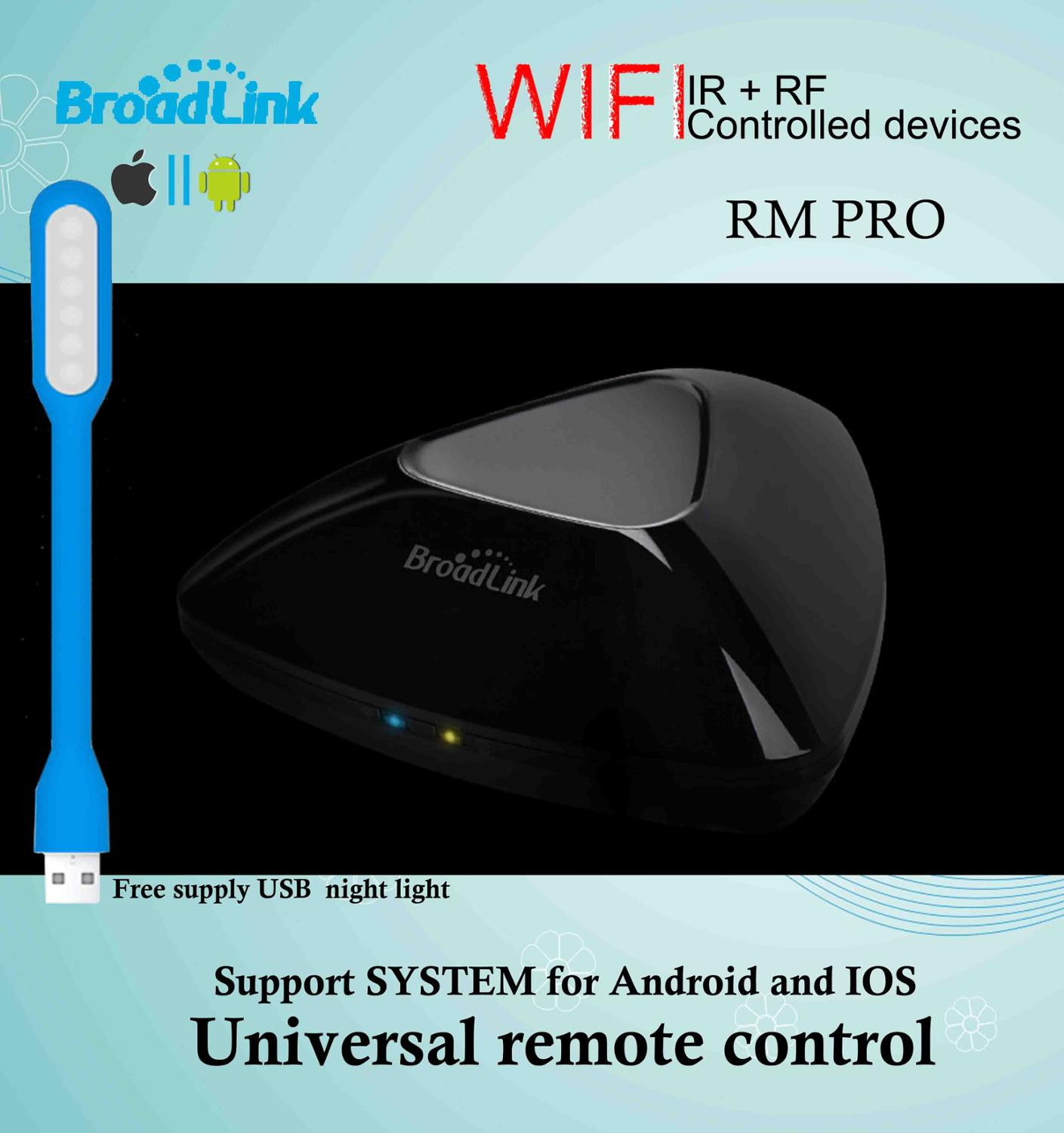 Broadlink smart infrared universal remote control with TVs, air conditioners, audios<br>