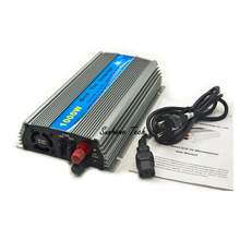 1000W solar Grid Tie Micro Inverter,  Pure Sine Wave solar grid tie nverter 20-45V DC to AC 120/230V for 24V /36V PV panels