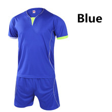 2016 Football Jersey and shorts Training Suit Clothes Set Football T-shirts Sportswear for Men Women Soccer Sports Clothing L400
