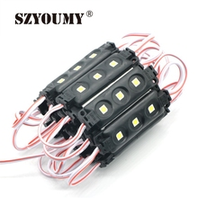 SZYOUMY 600X INJECTION MOLDING Led Module 5050 3leds/ Piece Waterproof IP65 DC12V White/Warm White Purple