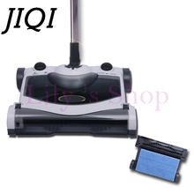JIQI Sweeping mop robot hand push Foldable cordless rechargeable sweeper mopping automatic drag broom vacuum cleaner EU US plug(China)