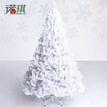 1.8 meters, qi Christmas tree 180 cm white Christmas tree, Christmas decoration luxury encryption package 5.2 kg