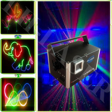 Full color animations high 1500MW quality Mini laser stage lighting holographic laser Star Projector