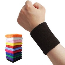 1pc Unisex Sports Wristband Sweat Women Yoga Fitness Bracer Tennis Strap Men Sports Safety Wrist Support Tape Protector(China)