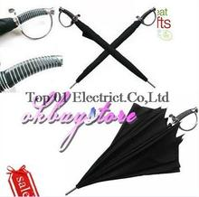 wholesale 10pcs/lot, Japanese Katana Umbrella,Japanese Samurai Ninja Katana Umbrella Black,umbrella samurai sword