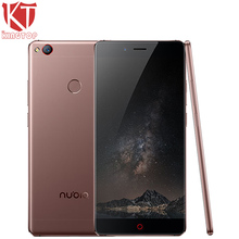 "KT Original ZTE Nubia Z11 Mobile Phone 6GB RAM 128GB ROM Snapdragon 820 Quad Core 5.5"" Borderless 16MP NFC Fingerprint 4G Phone(China)"