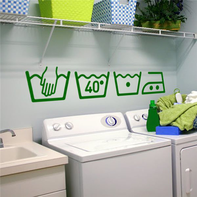 HTB1jGs4SFXXXXaKXpXXq6xXFXXXi - Vinyl Wall Decals Cleaning instructions Laundry room For Bathroom