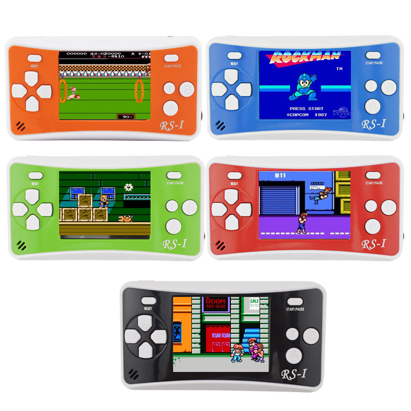 High quality handheld game consoles mini handheld color video game children gifts classic Contra/plants vs zombies game