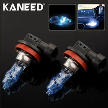 High Quality HOD H11 Halogen Bulb Super White Car Headlight Bulb 12V 100W 6000K Price for Pair Auto Access(China)