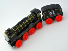 Wooden Thomas Train T070W HIRO Thomas And Friends Trackmaster Magnetic Tomas Truck Car Locomotive Engine Railway Toys for Boys(China)