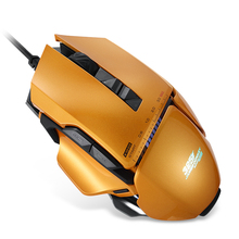 Professional USB gaming mouse wired metal mouse for video games macroprogramming gift mouse pad/mouse pouch