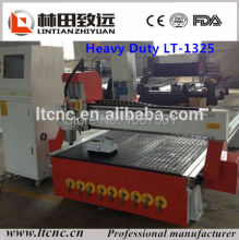 LT-1325 vacuum table /Dust collector /4.5KW / Mach3 high-speed cnc router for sale with good price