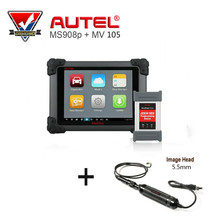 AUTEL MaxiSys Pro MS908P Automotive Diagnostic & ECU Programming System with MV105 Tool Vehicle Diagnostic Scanner Tools(China)