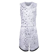 Boys 017 New Hot Sale youth Sport sets custom Basketball throw back sports wear for basketball sleeveless uniforms suits 1044