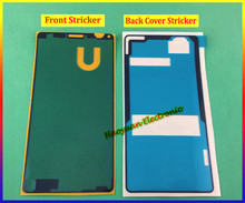 New housing Front+Back Cover Adhesive Sticker Tape Waterproof Glue for Sony Xperia Z3 Mini Compact 5803 5833 M55w