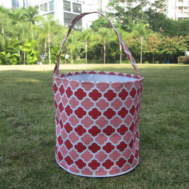 Wholesale Blanks Multi-Quatrefoil Easter Buckets Easter Tote Bags Storage Bins DOM103104<br><br>Aliexpress