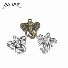 Buy YuenZ 10pcs alloy charms elephant head pendants jewelry findings components fit necklaces bracelets making D9152 for $1.91 in AliExpress store