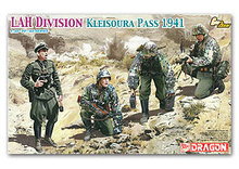"1/35 scale model Dragon 6643 Waffen - SSH Brigade and Armor Meyer ""Krishna Pass 1941""(China)"