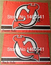 New Jersey Devils Flag 3ft x 5ft Polyester NHL Banner New Jersey Devils Flying Size No.4 144* 96cm QingQing Flag