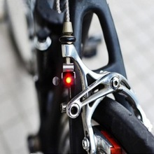 Portable Mini Brake Bike Light Mount Tail Rear Bicycle Light Cycling LED Light High Brightness Waterproof red LED lamp BL1901