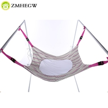 Infant Safety Baby Hammock Print Newborn Children's Detachable Furniture Portable Indoor Outdoor Hanging Seat Garden Swing Bed(China)