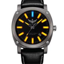 YELANG V3.3 self luminous system mens sapphire mirror sport outdoor diving waterproof titanium alloy automatic mechanical watch