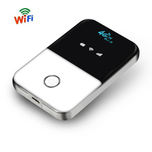 4G Lte Pocket Wifi Router Car Mobile Wifi Hotspot Wireless Broadband Mifi Unlocked Modem Extender Repeater With Sim Card Slot(China)
