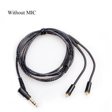 OKCSC Replacement Earphone Cable MMCX jack Headphone Cord for SHURE SE215/315/535/846/UE900 No mic(China)