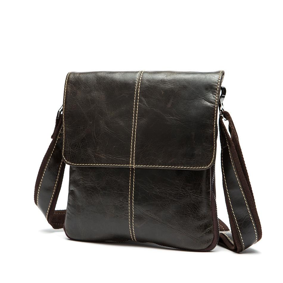 CHISPAULO Genuine Leather Vintage Men Bags mens bag shoulder bag Handbags leisure Style Factory Wholesale bag Vintage Retro T215<br>