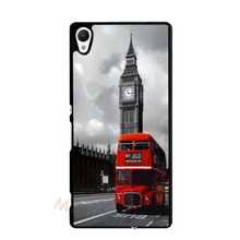 London Red Bus Cover Case for iPhone 4 4S 5 5S 5C 6 6S Plus Sony Xperia Z Z1 Z2 Z3 Z4 Z5 Mini C C3 C4 M2 M4 M5 T2 T3 E4