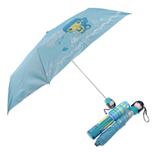 New Hot Novelty Japanese Kimono Doll Style Anti-UV Rainproof Folding Bottle Umbrella (Blue)(China)