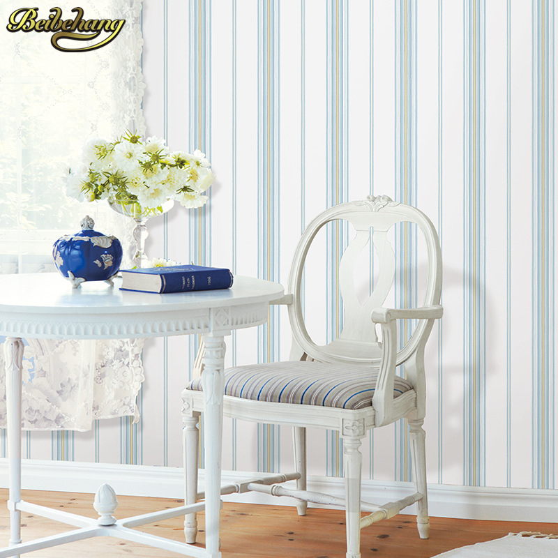 beibehang papel de parede 3D Fashion Modern Embossed mural wallpaper for walls 3 d Stripe Wall paper Roll TV Background backdrop<br>