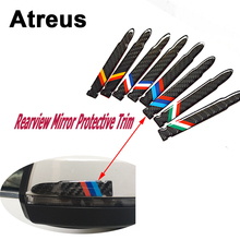 Buy Atreus 2pc Car Carbon Fiber Rearview Mirror Crash Trim Sticker Mercedes benz W204 W203 W211 AMG Mini cooper Skoda octavia a5 for $7.50 in AliExpress store