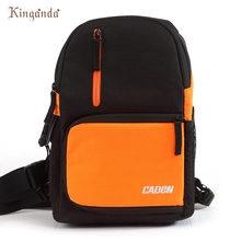 CADEN D5 Travel Shoulder Messenger Bag Camera Carry Case for Canon DSLR SLR_KXL0228(China)