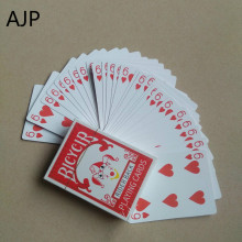 AJP Atomic Card Magic Poker Atom Playing Card Magic Props Close-up Street Stage Magic Tricks Kids Child Puzzle Toy