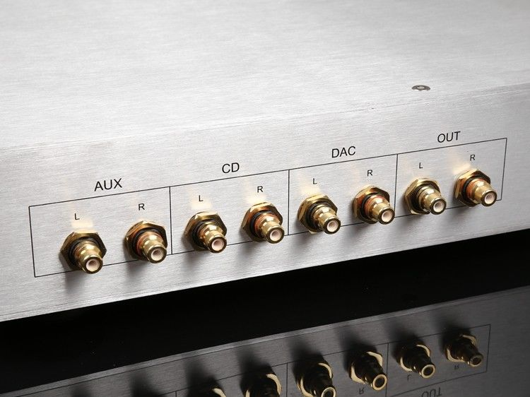 Two-channel pure A class using DOA33 module